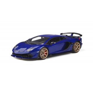 Lamborghini Aventador SVJ 2019 Metallic Blue 1:18