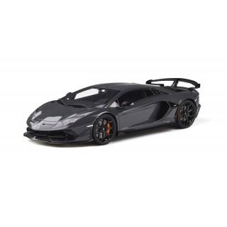 Lamborghini Aventador SVJ 2019 Metallic Grey 1:18