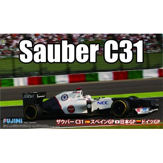 Sauber C31 Japan/Spain/German F1 2012 GP Kit 1:20