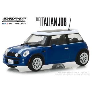 "Mini Cooper S 2003 blu dal film ""The Italian Job"" 1:43"