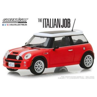 "Mini Cooper S 2003 Red dal film ""The Italian Job"" 1:43"