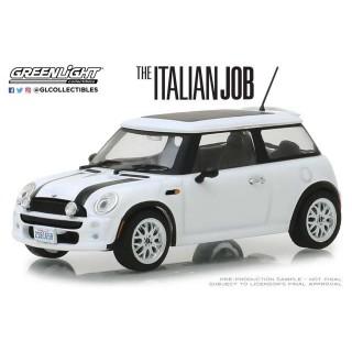 "Mini Cooper S 2003 White dal film ""The Italian Job"" 1:43"