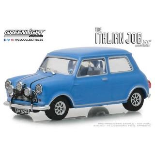 """Austin Mini Cooper S 1275 Blu Mkl 1967 """"The Italian Job 1969"""" 1:43"""