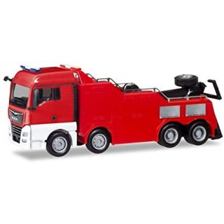 MAN TGX XLX Empl Wrecker Red Mini Kit 1:87