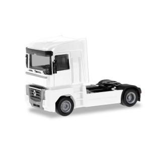 Renault Magnum white Mini Kit 1:87