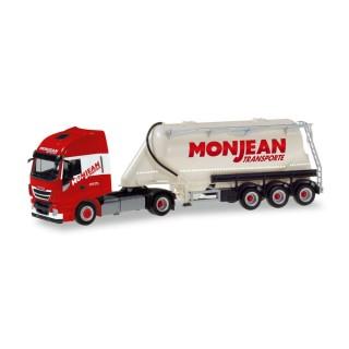 """Iveco Stralis XP bulk silo semitrailer """"Monjean"""" 1:87"""