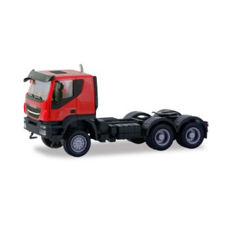 Iveco Trakker tractor 6×6 red 1:87