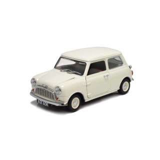 Morris Mini Minor 1959 white 1:18