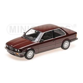 Bmw 323i 1982 red metallic 1:18
