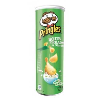 Pringles Green Sour Cream Onion 165 g