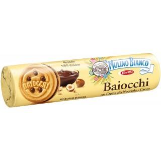 Baiocchi con Crema alla Nocciola e Cacao 168 gr