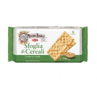 Sfoglia di Cereali Cracker con 5 Cereali Confezione 8pz 310 gr