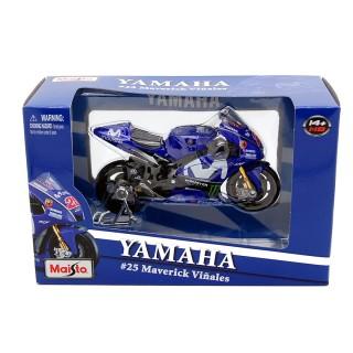 Yamaha YZR-M1 Movistar 25 Maverick Vinales 2018 MotoGP 1:18
