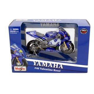 Yamaha YZR-M1 Movistar 46 Valentino Rossi 2018 MotoGP 1:18