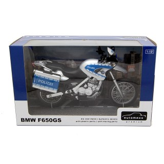 BMW F650GS moto Polizei 1:12