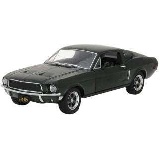 Ford Mustang GT Green 1968 Bullit Steve Mcqueen 1:24