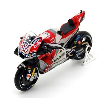 Ducati Desmosedici 04 Andrea Dovizioso 2018 MotoGP 1:18