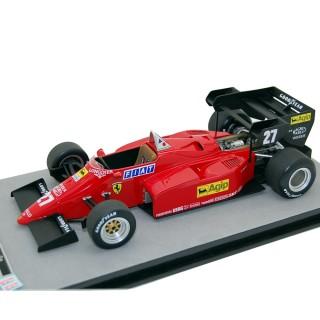 Ferrari 126 C4-M2 F1 1984 Gran premio d'Europa 2° posto Michele Alboreto 1:18