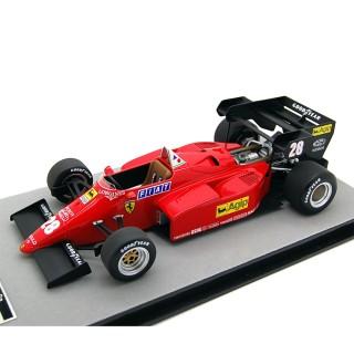 Ferrari 126 C4-M2 F1 1984 Gran premio d'Europa René Arnoux 1:18
