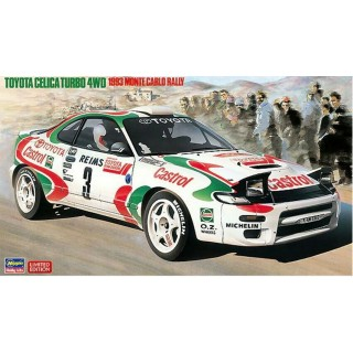 Toyota Celica Turbo 4wd 1993 Rally Monte Carlo Kit 1:24