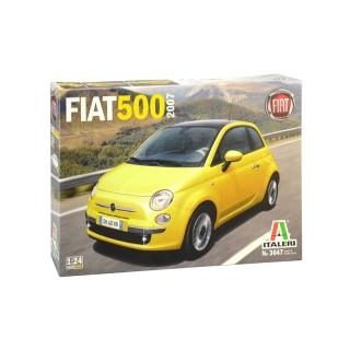 FIAT 500 new 2007 Kit 1:24