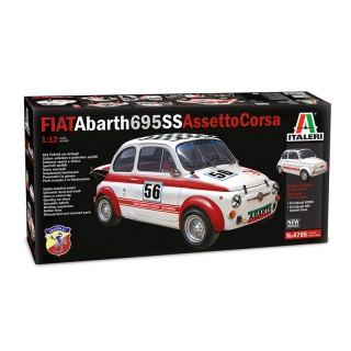 Fiat Abarth 695SS/Assetto Corsa kit 1:12