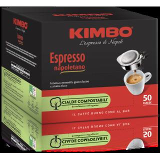 Kimbo Espresso Napoletano 50 Cialde Caffè