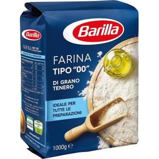 """Farina tipo """"00"""" di grano tenero Barilla 1kg"""