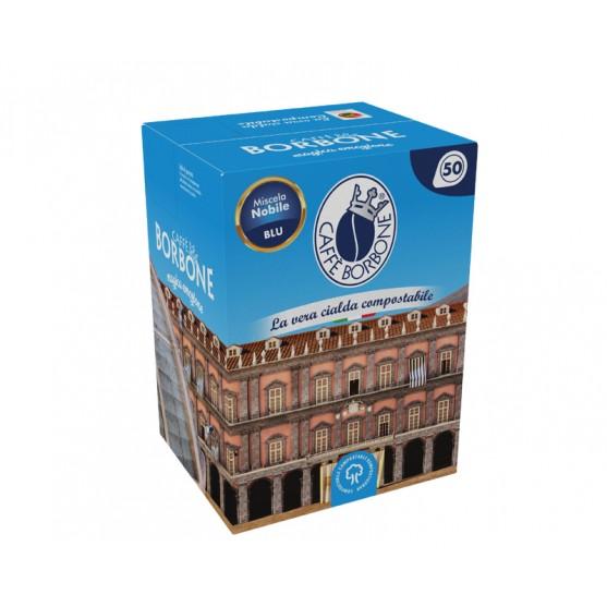 Caffè Borbone 50 Cialde Miscela Nobile Blu