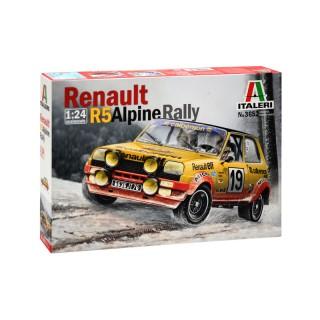 Renault 5 Alpine 1977 Kit 1:24