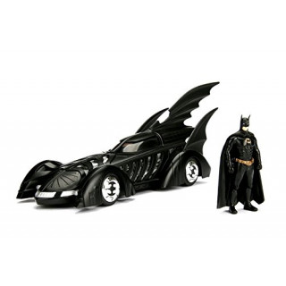 Batmobile 1995  with Batman Figure 1:24