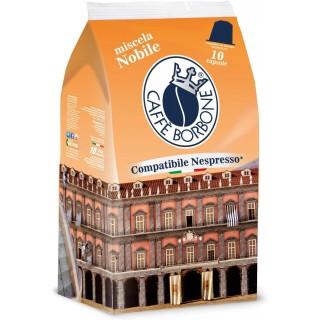Caffè Borbone Capsule Miscela Nobile compatibili Nespresso 10 pz
