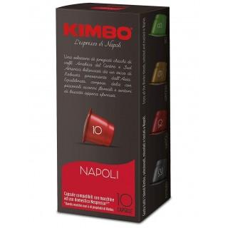 Caffè Kimbo Capsule Miscela Napoli compatibili Nespresso 10 pz