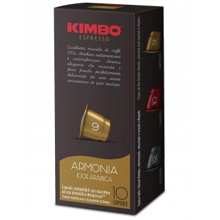 Caffè Kimbo Capsule Miscela Armonia compatibili Nespresso 10 pz