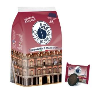 Caffè Borbone Capsule Miscela Decisa compatibili Lavazza® A Modo Mio 10 pz