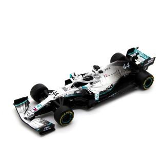 Mercedes Amg Petronas W10 EQ Power F1 2019 Lewis Hamilton No Figure 1:43