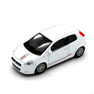 Fiat Grande Punto 2005 Bianca decals Italia 1:43