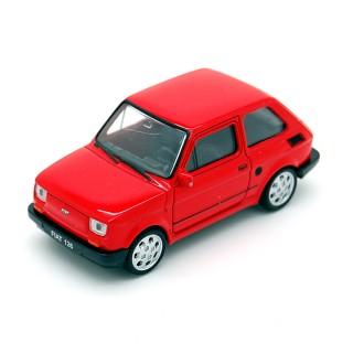 Fiat 126 Bis 1987 Red 1:43