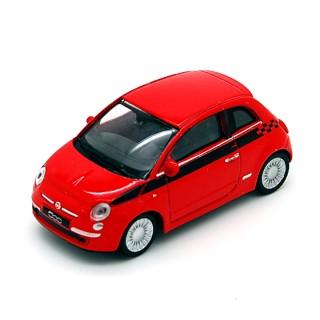 Fiat Nuova 500 2007 Red 1:43