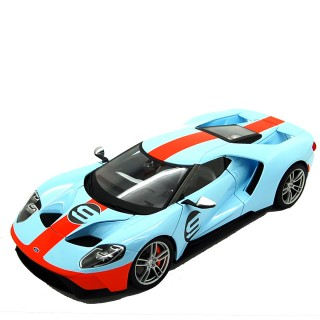 Ford GT 2017 Gulf Exclusive 1:18