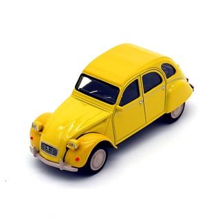 Citroen 2CV 6 Club 1979 Mimosa Yellow 1:43