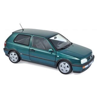 Volkswagen Golf VR6 1996 Green metallic 1:18
