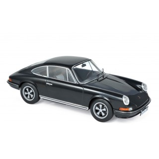Porsche 911 S 1973 Black 1:18