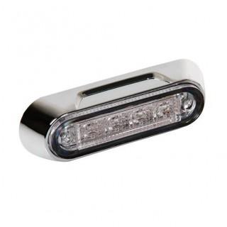 Premium luce a 4 led montaggio superficiale 12/24V Rosso