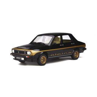 Renault 12 Alpine 1978 Noir 694 1:18