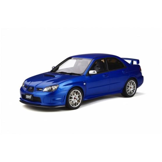 Subaru Impreza STI S204 2006 WRX Blue Mica 02C 1:18