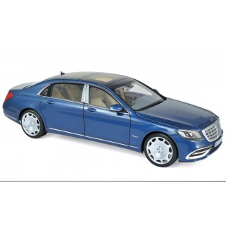 Mercedes-Maybach S 650 2018 Blue metallic 1:18
