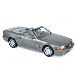 Mercedes-Benz 500 SL 1989 Grey metallic 1:18