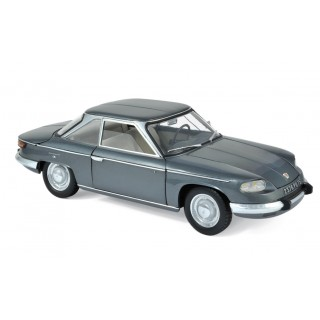 Panhard 24 CT 1964 Sylver Grey metallic 1:18