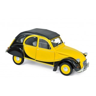 Citroen 2 CV Charleston 1982 Helios Yellow & Black 1:18